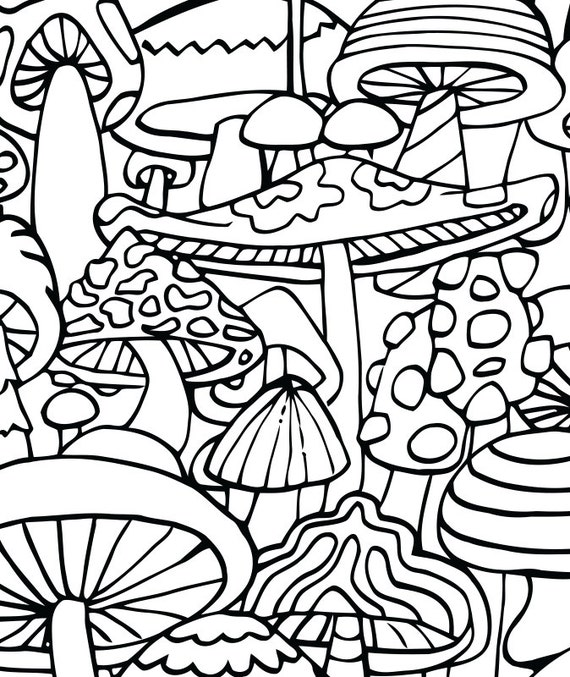 This is a graphic of Exceptional Coloring Pages Trippy
