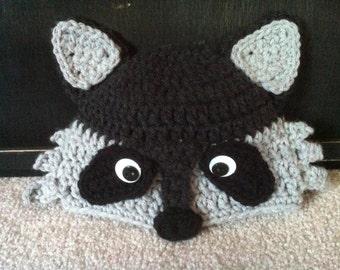Mr. Raccoon infant/child hat