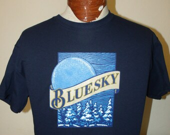 Allman Brothers Blue Sky/Blue Moon Beer T shirt