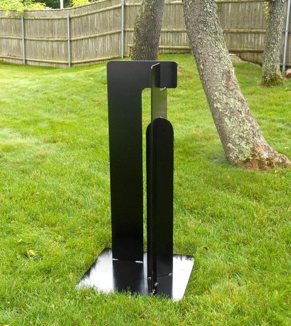 Large Modern Garden Sculptures: Free Standing Metal Sculpture Landscape Art Large Sculpture