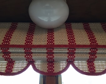 Vintage Roman Shade with Valance