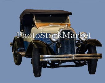 Antique 1920's Car PNG (Indian Roadster 1928)