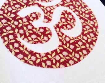 Om Symbol Floursack Towel  28x28~  Aum Ohm Am Om
