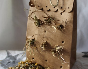 Floral Forage Bag