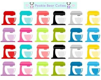 Baking Mixer Stickers!-091