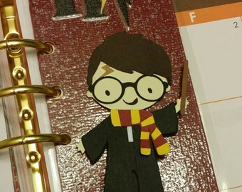The Boy Who Lived Paperclip/Bookmark / Wizard /HP