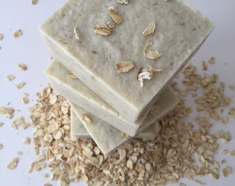 Oatmeal Pear Soap with Shea Butter