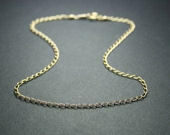 Delicate gold anklet, chain anklet, gold ankle bracelet, gold filled anklet, dainty anklet, minimalist anklet, summer jewellery