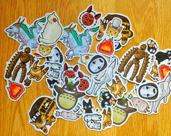 Studio Ghibli Stickers