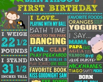 """Personalized """"Birthday Themed"""" Wall Art"""