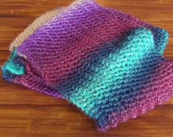 Ladies Lace Hand Knit Scarf. 180 cm (70.9 in). 100% Wool.