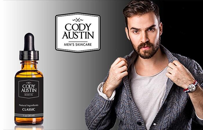 cody austin beard oil classic. Black Bedroom Furniture Sets. Home Design Ideas