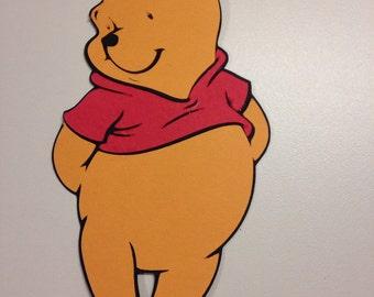 Winnie the Pooh die cut