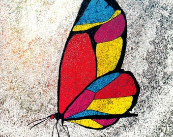 Color on the Wing, print