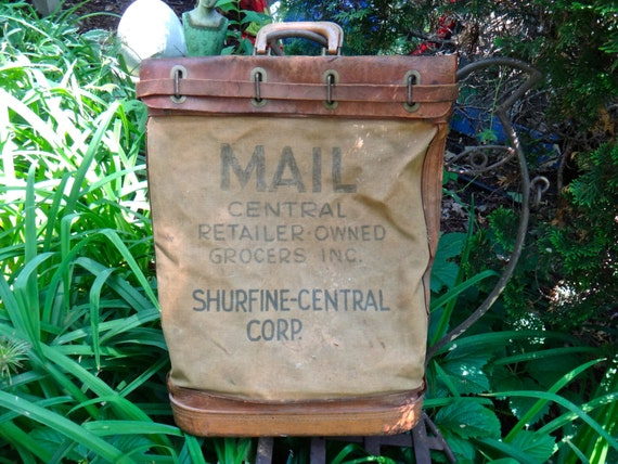 Vintage Mail Bag Can Pro Mail Bag Vintage Graphics Central