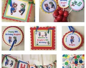 Super Mario Bros. Party Package