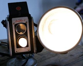 Upcycled Vintage Photography Camera Lamp- Kodak Duaflex II