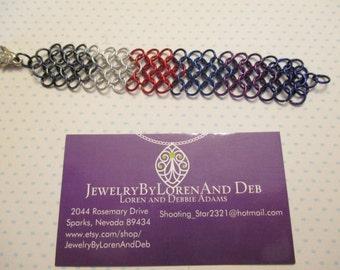 Kids chain-mail bracelet