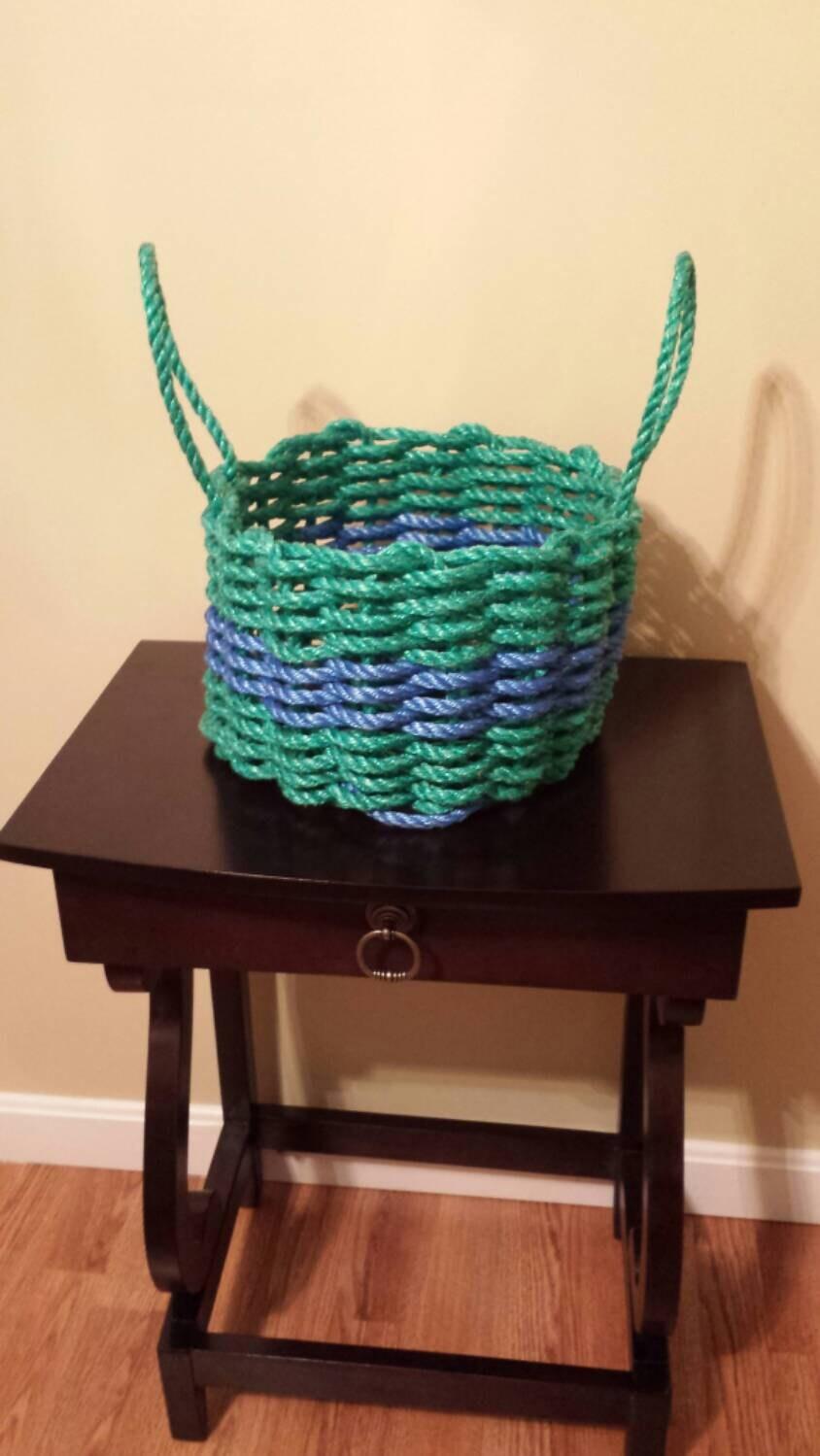 Handmade Rope Basket : Lighting