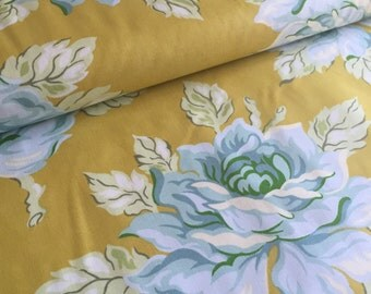 Hello Roses Gold Heather Bailey Nicey Jane Fabric