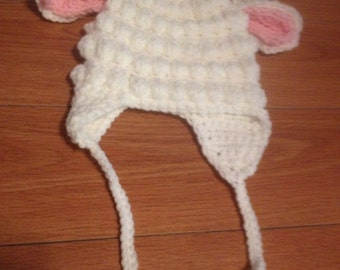 infant lamb hat