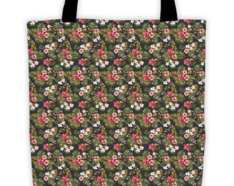 Tropical Hibiscus Night Tote
