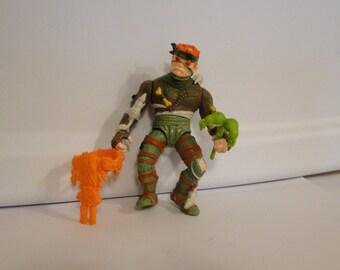Vintage 1989 Playmate Teenage Mutant Ninja Turtles Rat King TMNT
