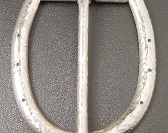 Sterling Silver Horseshoe Belt Buckle