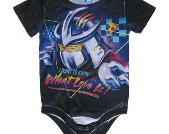 I Wanna Know Parody Baby Onesie Inspired by Shredder, Teenage Mutant Ninja Turtles - Romper, One Piece, Rock, Toddler, Infant, Newborn, Punk