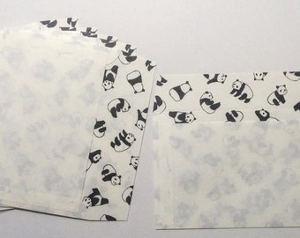 Japanese Envelopes - Panda