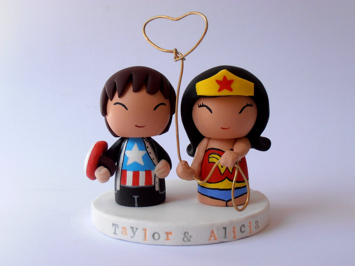 superhero wedding cake topper chandeliers amp pendant lights 20609