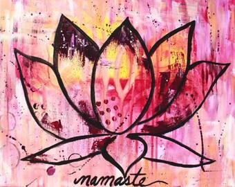 Namaste - PRINT