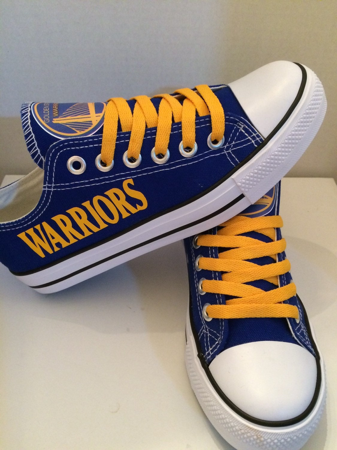 Golden State Warriors Unisex Tennis Shoes Please By