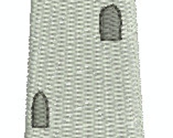 Authentic Lighthouse - Digital embroidery design
