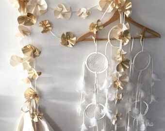 Organic flower garlands XO