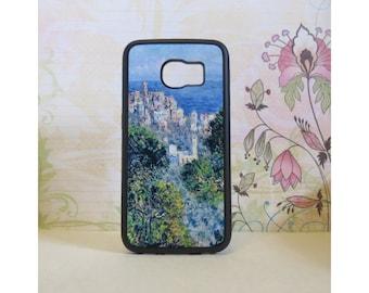 Bordighera View (Monet) - Rubber Samsung Galaxy S3 S4 S5 S6 Case