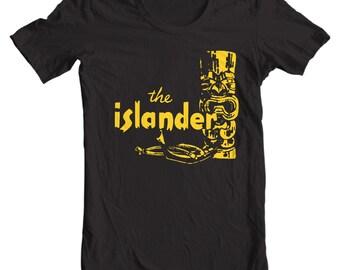 Vintage Matchbook - The Islander Restaurant Los Angeles Vintage Matchbook T-shirt