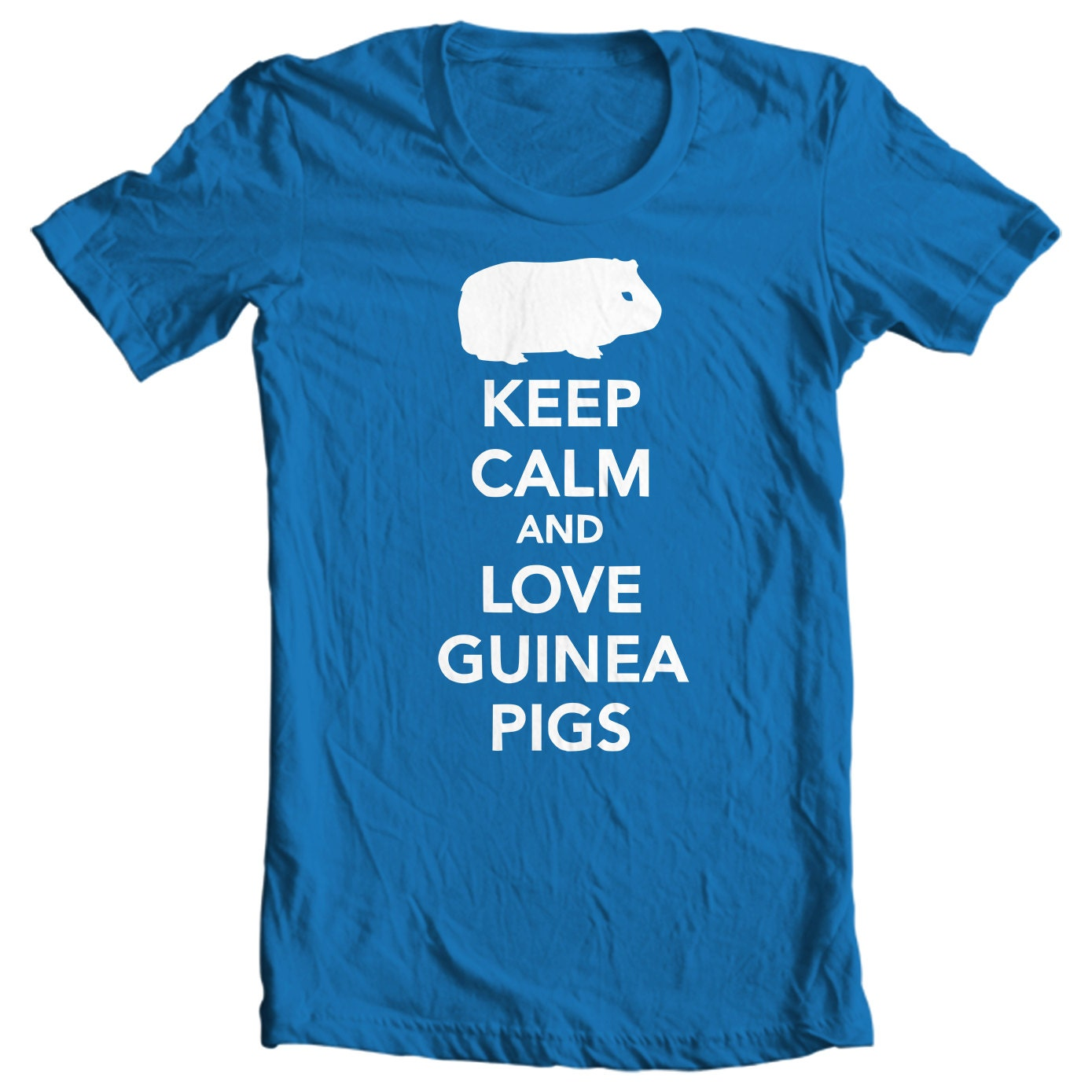 Guinea Pigs Kids T-shirt - Keep Calm And Love Guinea Pigs Kids T-shirt