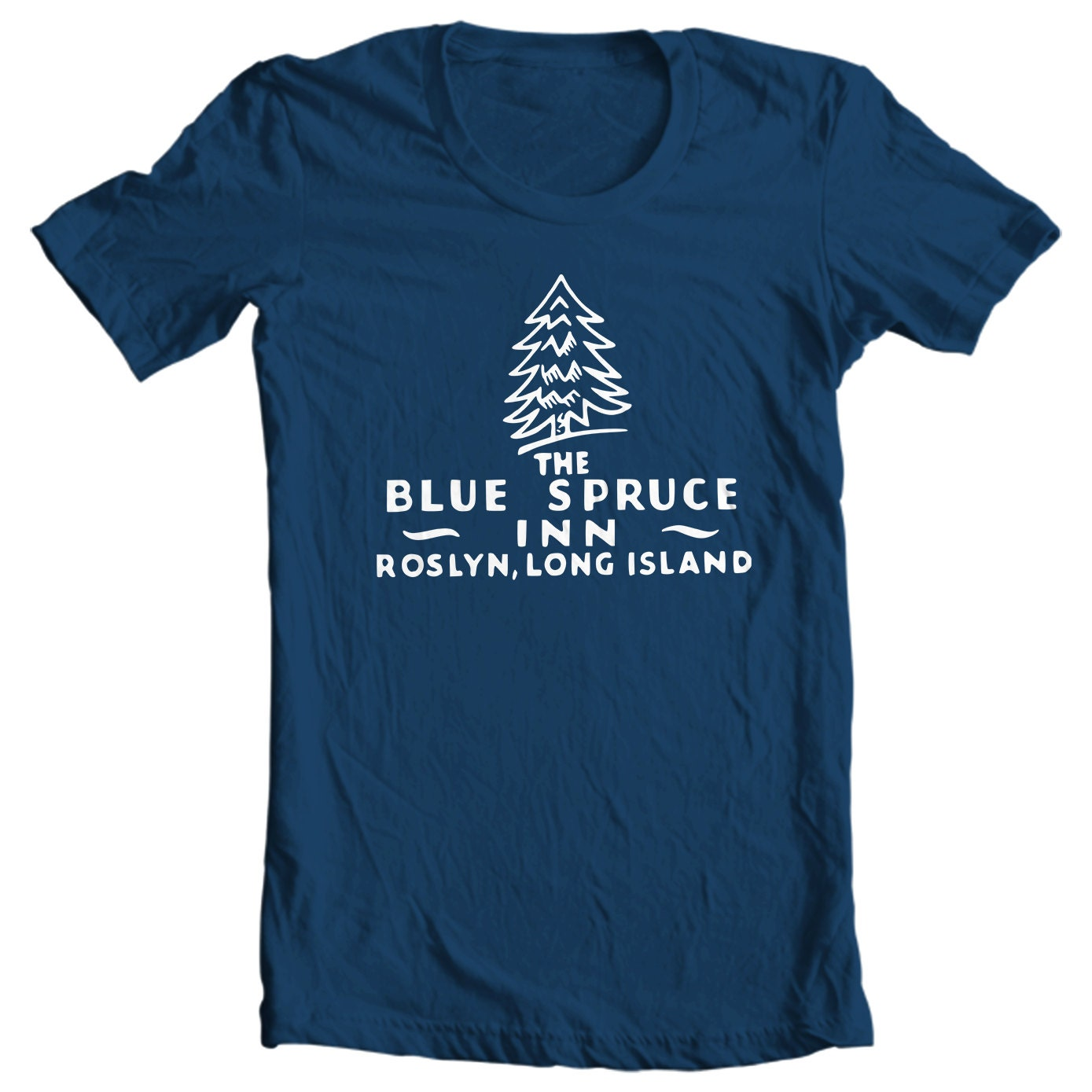 Blue Spruce Inn Roslyn Long Island New York Vintage Matchbook T-shirt