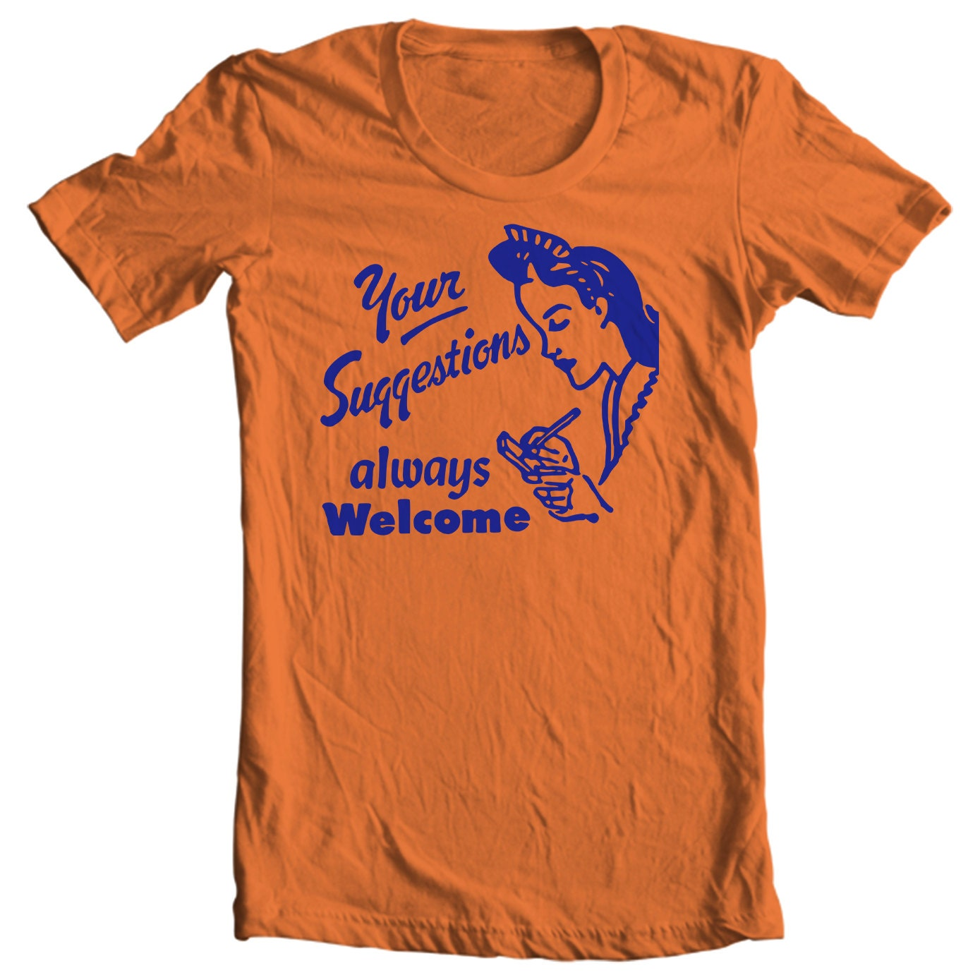 Your Suggestions Always Welcome Vintage Matchbook T-shirt