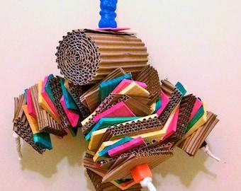 Shredder Mania, 1# + of shredding fun, Bird toy