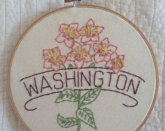 Washington - Rhododendron 8'' Hoop