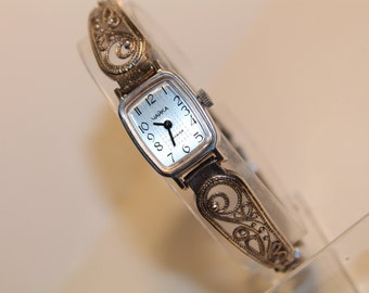 Chajka Vintage RUSSIAN watch. Mechanical Ladies Watch Chajka 1990s.USSR wrist watch Chajka for ladies