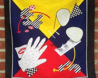 Vintage bandana michael Jackson, made in america 1980s