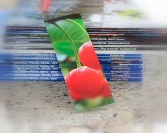 Michigan Photography Bookmark Traverse City Cherries