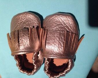 Fringe baby shoes
