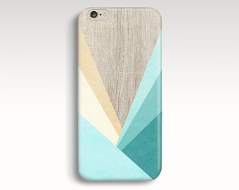 iPhone 6 Case, Geometric iPhone 6s Case, Wood Print iPhone 5C Case, Wooden iPhone 5s Case, iPhone 6 Cases Mint iPhone 6 Plus Christmas Gift