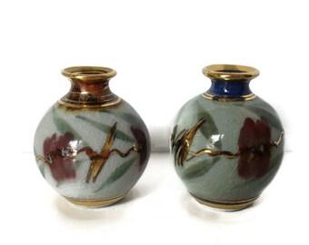 Australian Pottery Vases by Michael Wilson