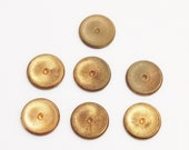 Rustic Brass Jewelry Components ,Copper Findings, Brass Supplies (FDS-96)