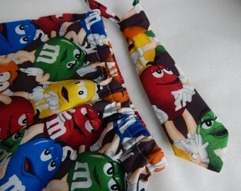 m m diaper cover and necktie for boys----m and m boys shorts and necktie set---m and m cake smash birthday outfit